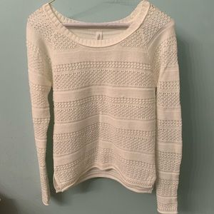 White Aeropostale Sweater